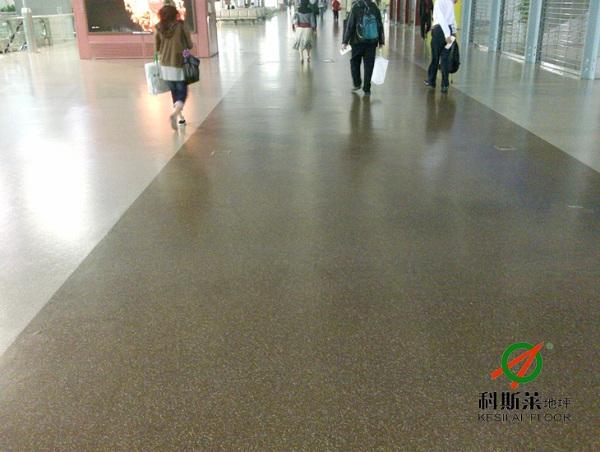 环氧彩砂地坪产品特性